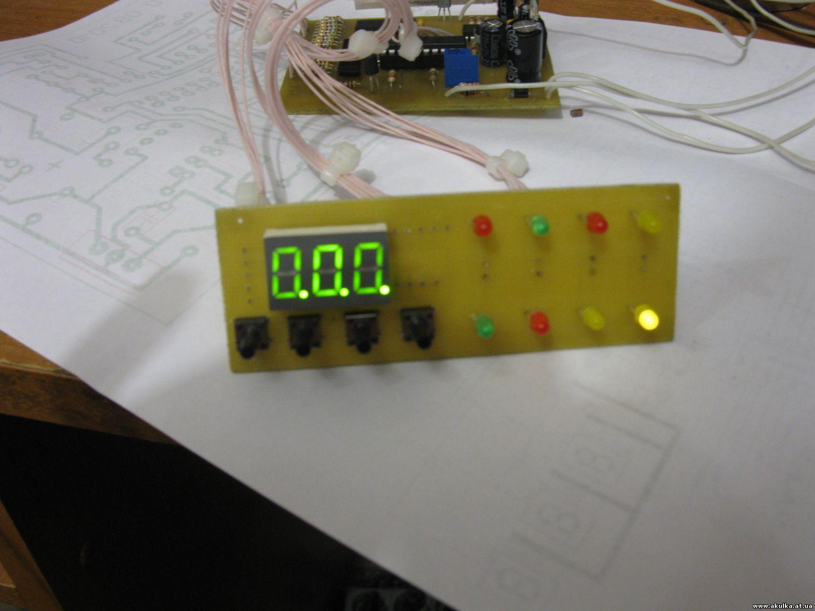 Автомобильное зарядное устройство на микроконтроллере своими руками